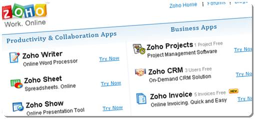 zoho office online