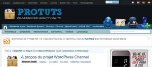 protuts tutoriel wordpress