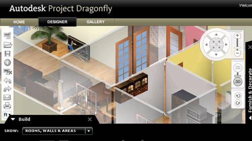 dragonfly un logiciel d 39 architecture en ligne. Black Bedroom Furniture Sets. Home Design Ideas