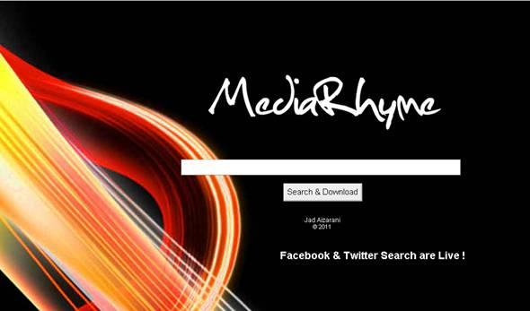 mediarhyme.com chercher la musique, l'écouter ou la télécharger